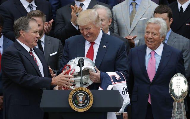 Trump wydał szalone pieniądze na reklamę wyświetlaną podczas Super Bowl Jay-Z