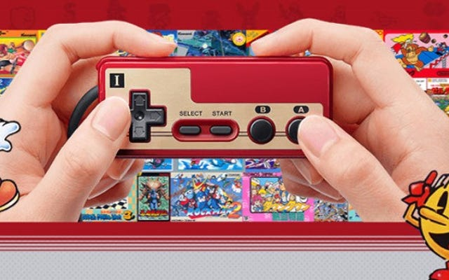 Le contrôleur de la Mini Famicom semble petit