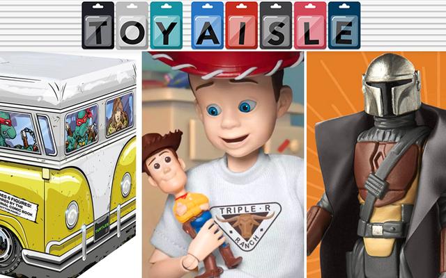 Kid Hero y Villain de Toy Story cobran vida en los juguetes más salvajes de la semana