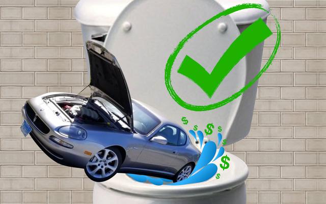 誰かが彼にそれからクラップを追い出すように言うことによってその貧しいクレイグスリスターのマセラティ「お金のトイレ」を修正しました