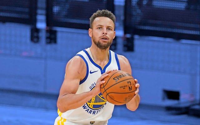 I ridicoli tre di Steph Curry hanno rovinato definitivamente l'NBA