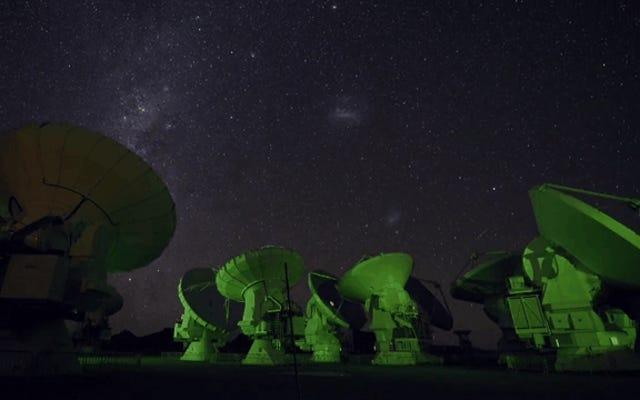 世界最大の望遠鏡のいくつかで6つの忙しい日(そして夜)