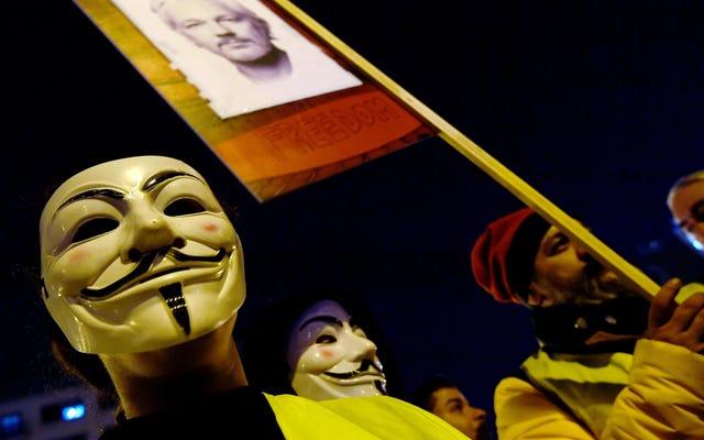 Le nouvel acte d'accusation de WikiLeaks du DOJ comporte des trous de tracé importants et pratiques