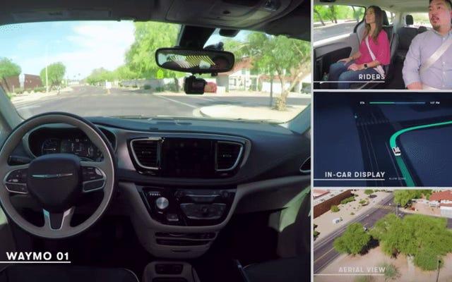 Waymo lance une flotte de voitures sans conducteur en Arizona