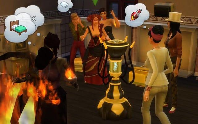 Benvenuto nella casa degli orrori di My Sims