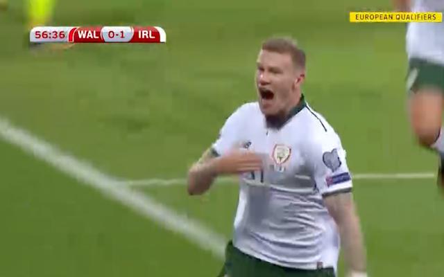 ジェームズ・マクリーンがウェールズを台無しにし、アイルランドのワールドカップの希望を生き続ける
