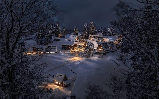 La beauté du Japon en hiver