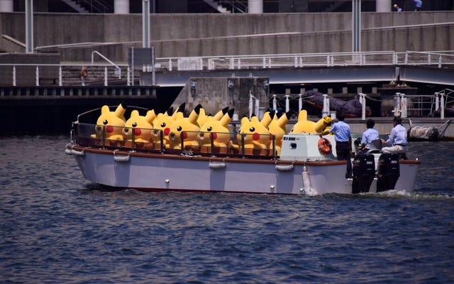 Voici à quoi ressemble une invasion de Pikachu