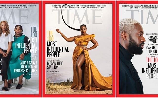 Megan Thee Stallion, i fondatori di Black Lives Matter e altre 100 persone più influenti del 2020 da Top Time Magazine