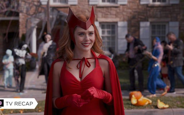 WandaVision sabe lo que está haciendo, pero Scarlet Witch no