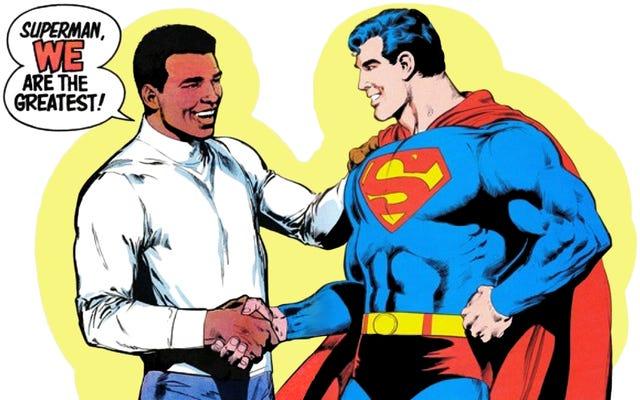 Esa vez que Muhammad Ali venció a Superman