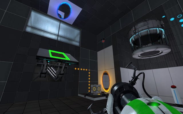 Le jeu de portail conçu par les fans ajoute une troisième couleur, ce qui permet de voyager dans le temps