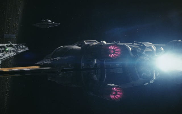 Star Wars: The Last Jedi se proyectará en el espacio