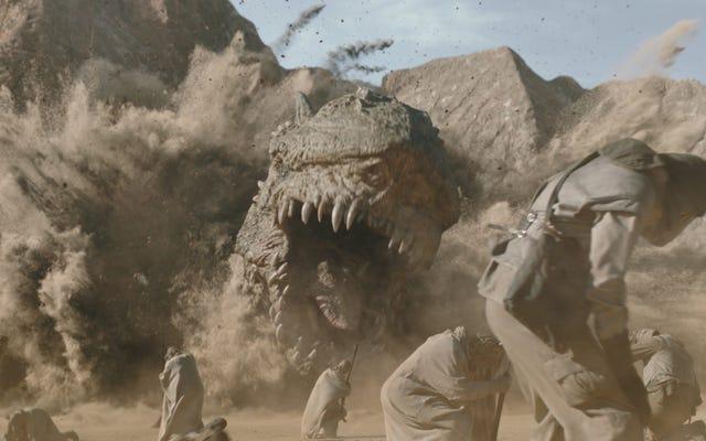 ジョンファヴローがマンダロリアンのクレイトドラゴンシーケンスを深く掘り下げる