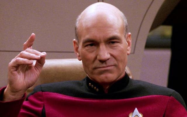 Sir Patrick Stewart był ważną osobą w pokoju scenarzystów programu Picard Show