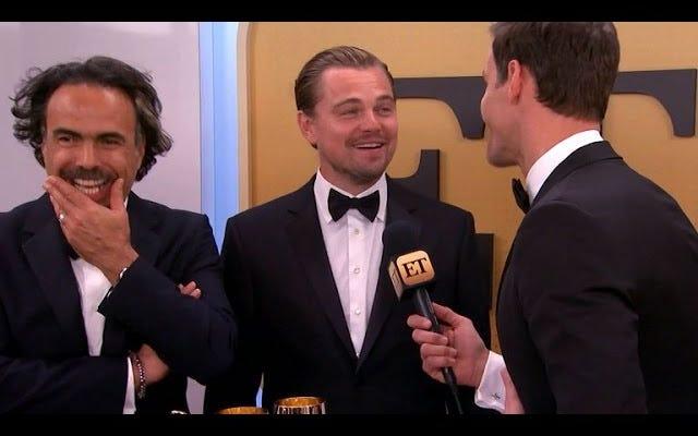 Leonardo DiCaprio'nun Lady Gaga'ya Tepkisi: 'Beni Neyin Geçtiğini Bilmiyordum'
