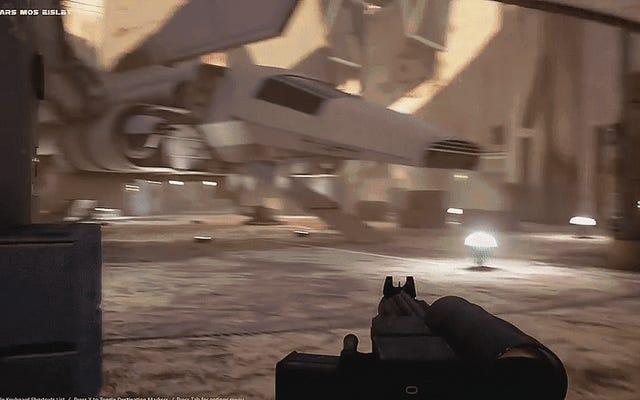 ファンは、神話上のスターウォーズのプレイ可能なデモを作成します:Unreal Engine4を使用したDarkForces