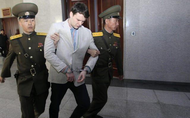 北朝鮮で捕虜となったアメリカ人学生、オットー・ワームビアが昏睡状態で帰国後死亡