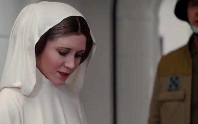 Rencontrez l'actrice qui devait enfiler les petits pains de la princesse Leia dans Rogue One