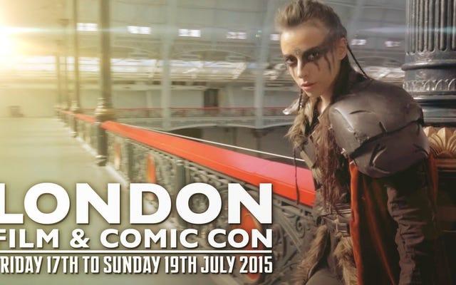 Rasakan Cosplay The London Film & Comic Con Dengan Sneaky Zebra