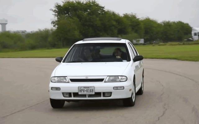 日産アルティマは必ずしも単なるレンタカーではありませんでした