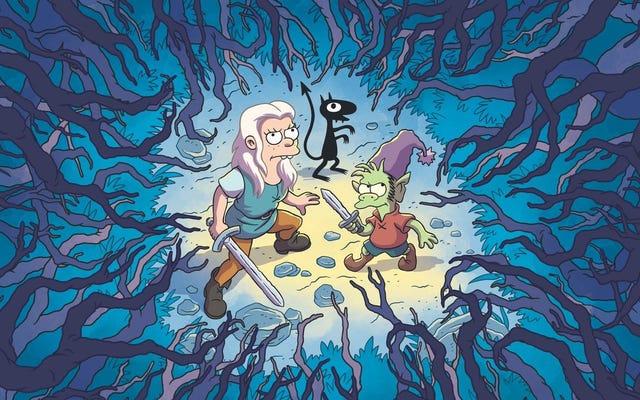 Disenchantment, seri baru dari pencipta The Simpsons, akan tiba di Netflix pada bulan Agustus