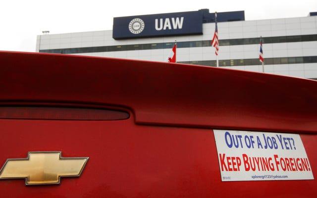 L'umiliazione della UAW è quasi completa