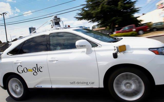 グーグルはついに雨が降る場所で自動運転車をテストする