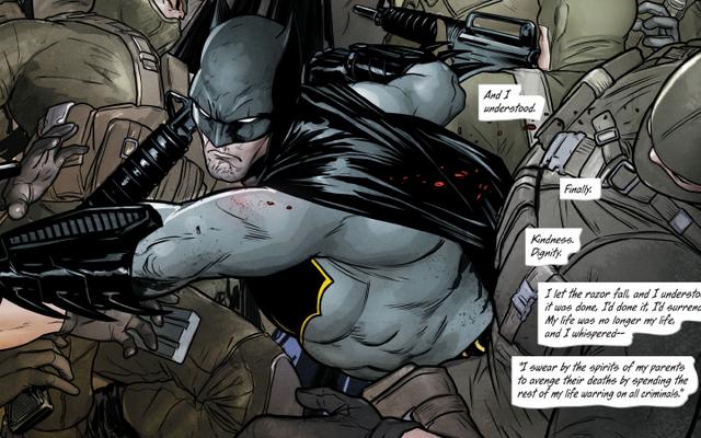 โครงการการ์ตูนดีซีเรื่องต่อไปของทอมคิงจะสำรวจ Superhero PTSD