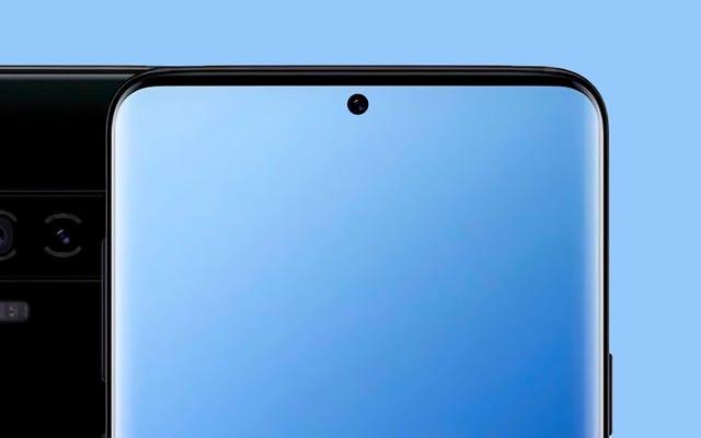 次のスマートフォンのトレンド:ノッチを画面の穴に置き換える