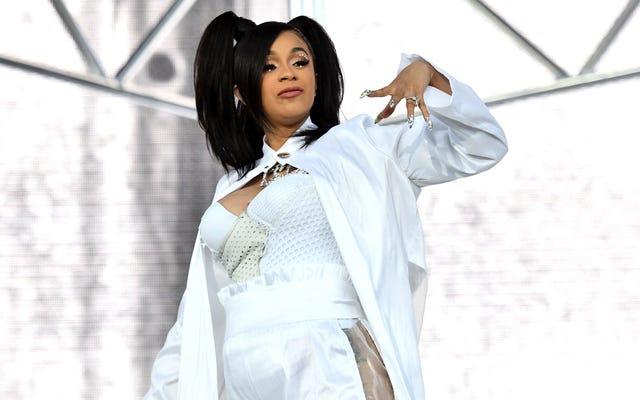 Cardi B vừa phá kỷ lục của Beyoncé về số lượng đĩa đơn Hot 100 đồng thời