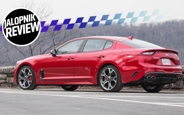 La Kia Stinger GT 2018 è il vero affare