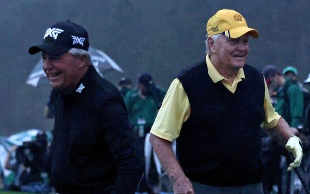 ¿Augusta realmente necesitaba poner en riesgo a Jack Nicklaus y Gary Player en la época del COVID-19?