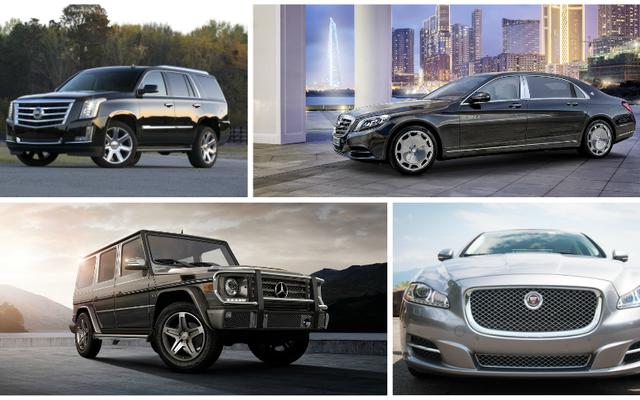 これらの大きな高級車はあなたがそれを作った世界を示しています