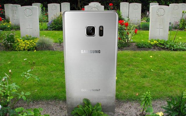 Güle güle Galaxy Note 7: Ölümün Samsung'un yapabileceği en iyi şey