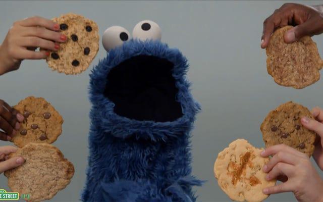 クッキーベースの調査は、強力な人々がよりずさんな食べる人であることを示唆しています