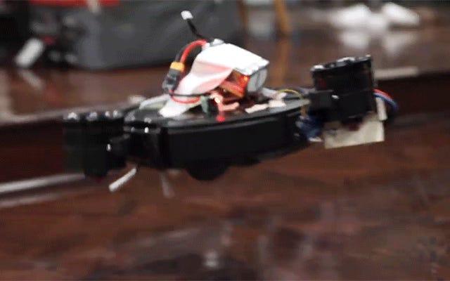 ガジェットハッカーは、飛ぶものを作ることでロボバックの最大の問題を解決します