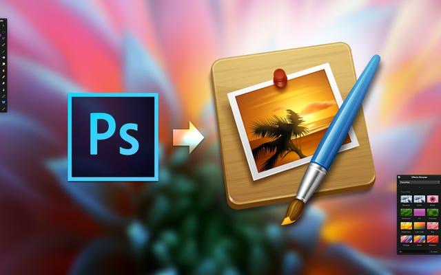 Sauter le navire de Photoshop à Pixelmator: le guide du mélangeur
