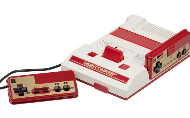 Le microphone intégré de la Famicom était merveilleusement étrange