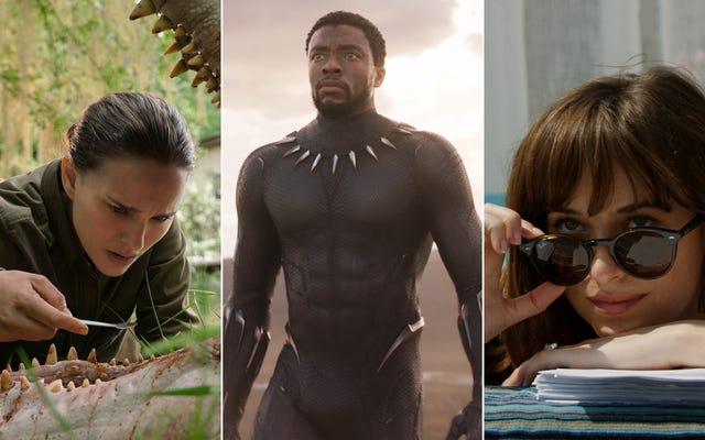 Black Panther mengambil peran sebagai Christian Grey, ditambah 17 film lainnya yang akan hadir Februari ini