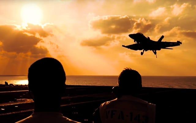 これは海軍の夢の仕事がどのように見えるかです
