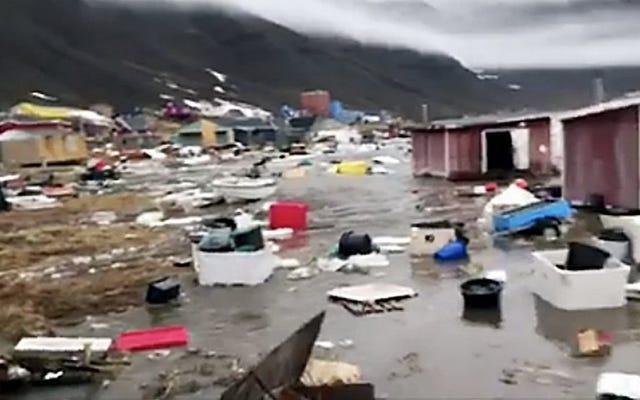 Tsunami Pembunuh di Greenland Mungkin Dipicu oleh Tanah Longsor