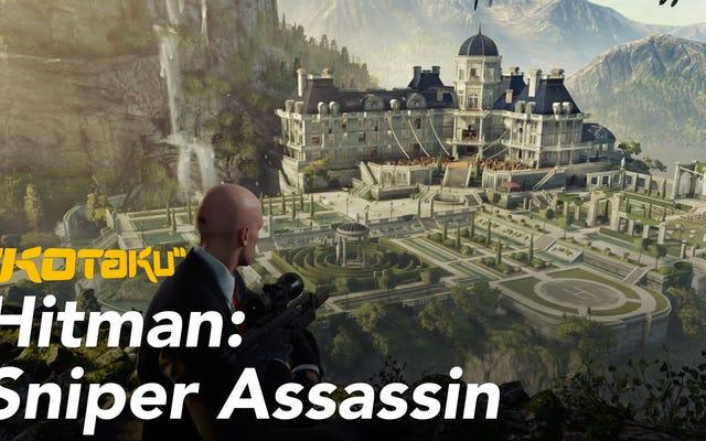 Le mode Sniper Assassin de Hitman est une boîte à puzzle mortelle