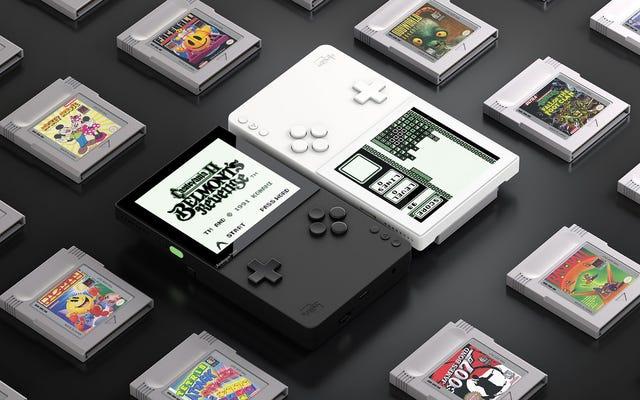 Les meilleurs créateurs de consoles rétro créent un Game Boy