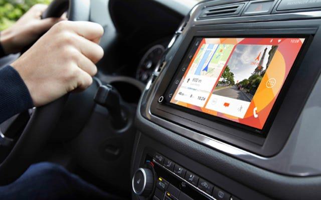 Hệ thống âm thanh nổi Android Auto và Apple CarPlay mà bạn đã chờ đợi