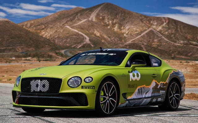 Bentley enverra au moins cette Continental GT Up Pikes Peak avec style