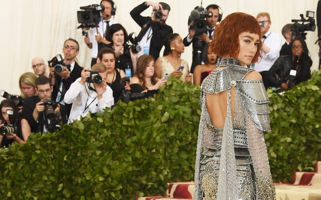 `` I Was Joan of Arc in a Former Life '': How Zendaya Was Transformed for the Met Gala 2018