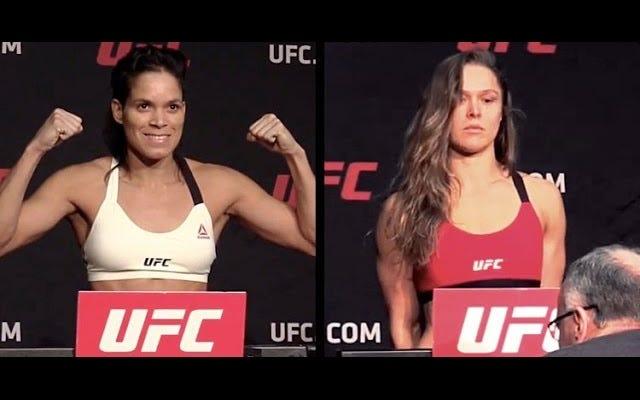 Ronda Rousey Tidak Punya Waktu untuk Ngobrol di UFC Weigh In-nya