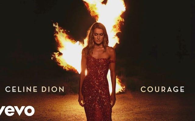 セリーヌ・ディオンがレコードの罵倒を完璧に聞こえる