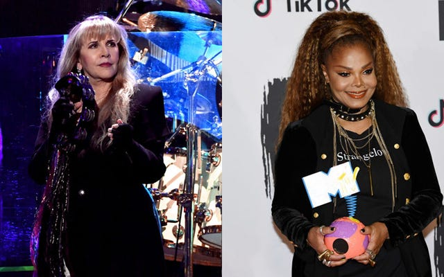 Le Rock and Roll Hall of Fame craint toujours, mais au moins Janet Jackson et Stevie Nicks y seront